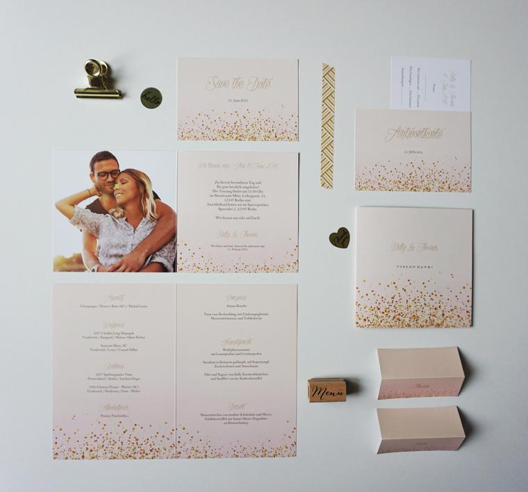 Hast du dich auch schon gefragt wie und wo du deine Hochzeitskarten ...