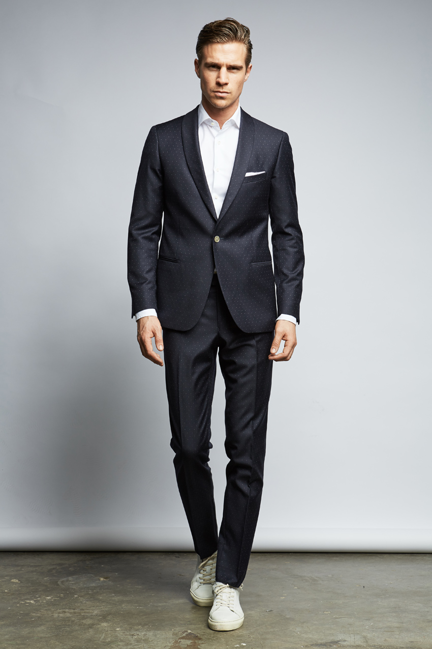 Alternativ, Anzug für den Bräutigam