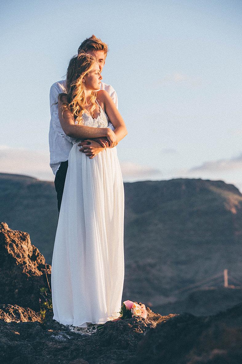 Heiraten in Spanien, Hochzeit auf einer Insel, La Goemra